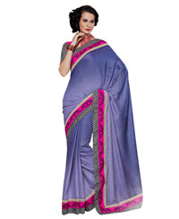 Dlines Enterprises - Lavish Lavender Saree
