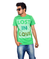 Drakeman green casual tees