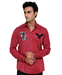 Jainez SP05 Fushia Slim Fit Shirt