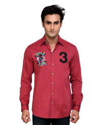 Jainez SP06 Fushia Slim Fit Shirt