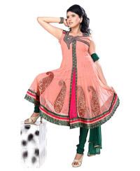 Only Small Size Fancy Readymade Anarkali Dress3004