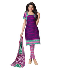 Purple Shivani pure cotton salwar 11502