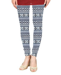 Softwear Big Design Stripes Printed Leggings