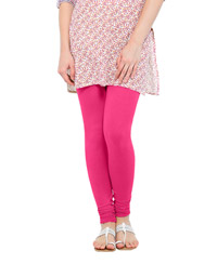 Softwear Fuschia Pink Cotton-Lycra Legging
